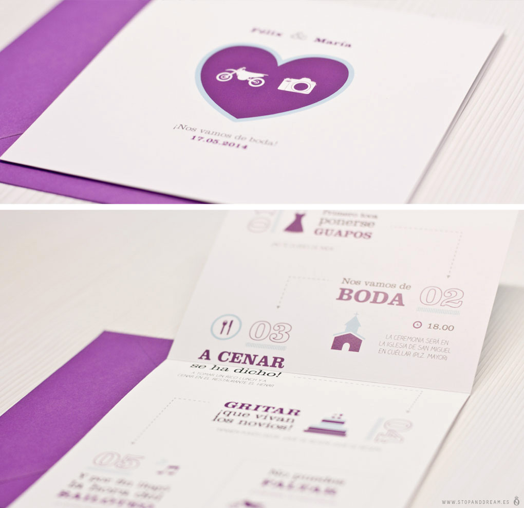 Invitación wedding