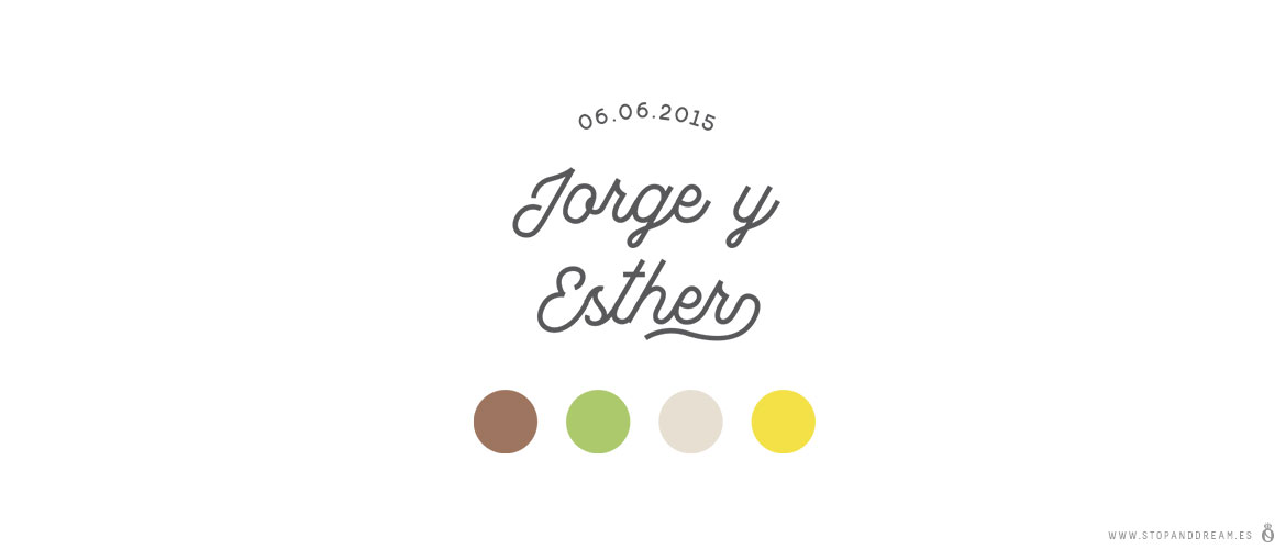Bodas reales Stop and Dream Jorge y Esther