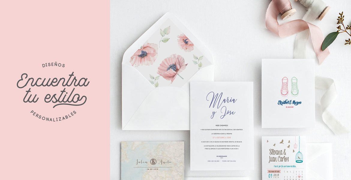 Stop and Dream - Invitaciones de boda 2018-2019